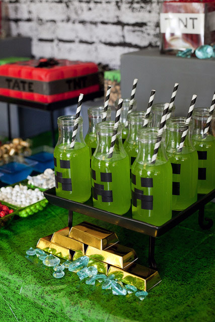 Ideas Para Fiestas Minecraft Blog Celebrando Fiestas