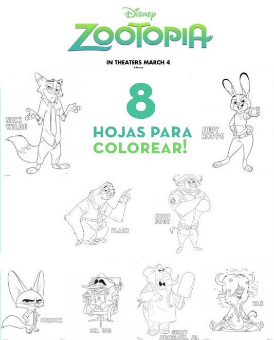 hojas_para_colorear_coloring_painting_zootopia