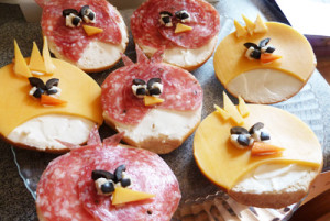 Sandwiches Angry Birds!