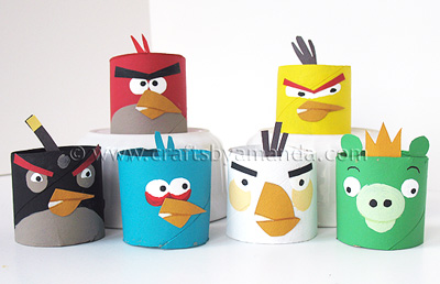 The angry birds blog celebrando fiestas angrybirdscardboardtubes angrybirdsfavors solutioingenieria Choice Image