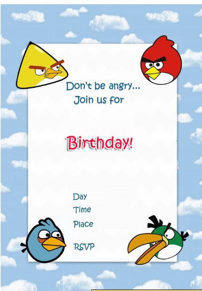 The ANGRY BIRDS | Blog Celebrando Fiestas