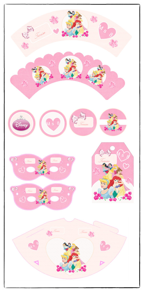 kit_imprimible_princesas_free_gratis_printable