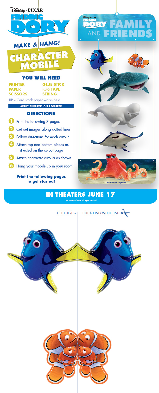 character-mobile-finding-dory-free-gratis-printable