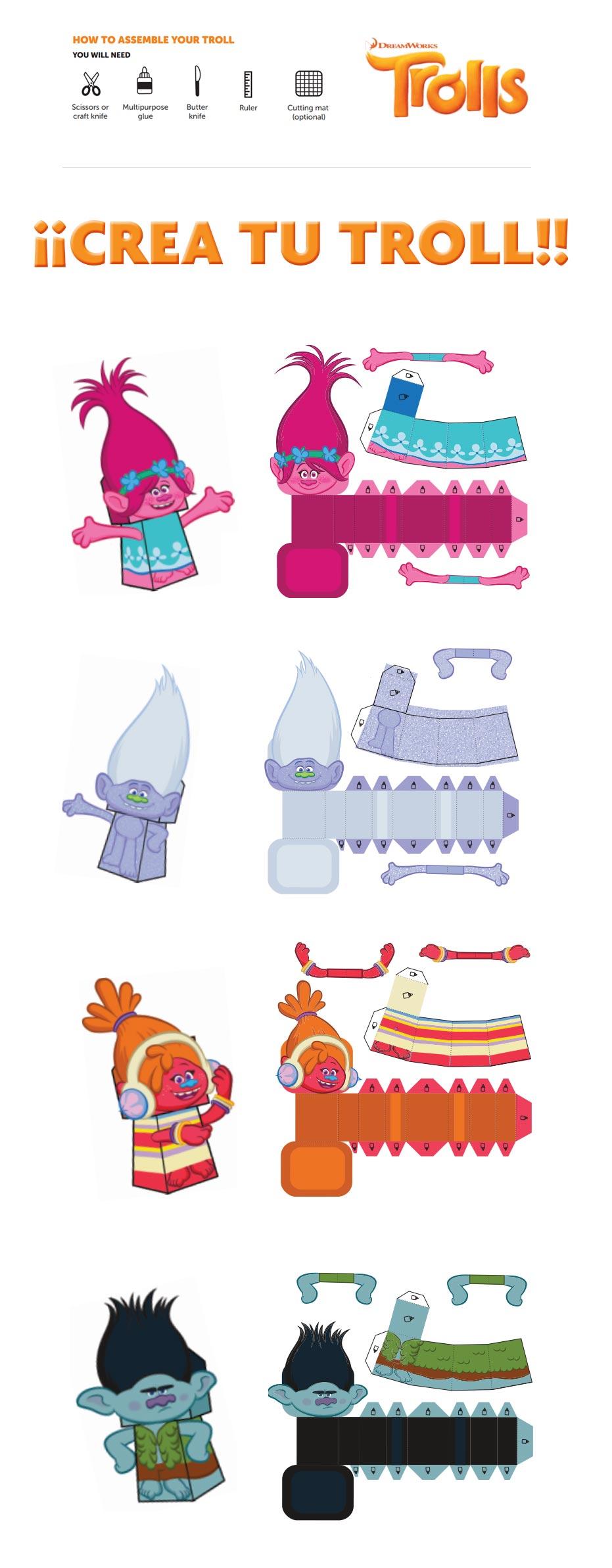 Trolls – ideas para fiestas | Blog Celebrando Fiestas