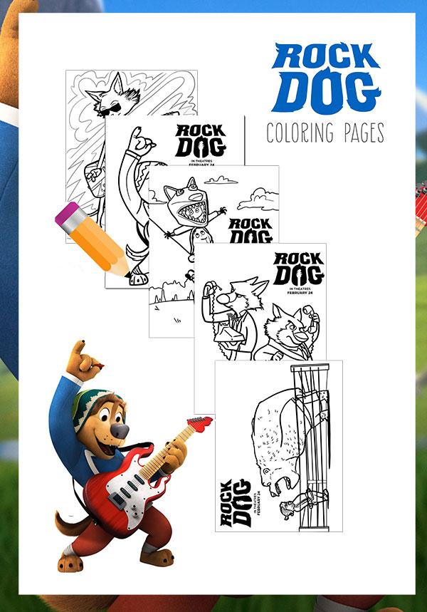 Decoración Rock Dog – ideas para fiestas | Blog Celebrando Fiestas