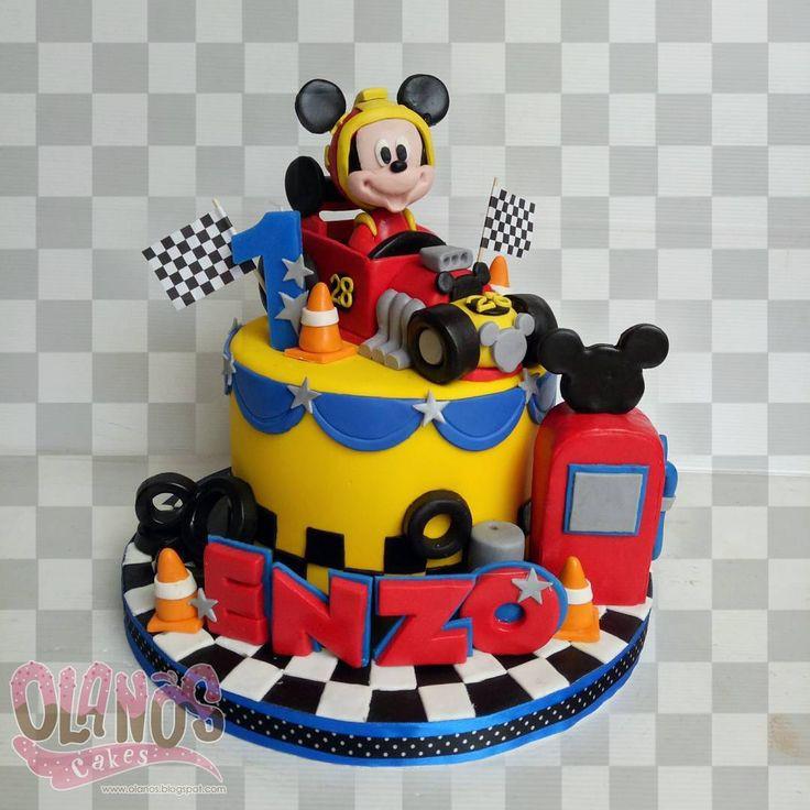 Decoracion De Mickey Aventuras Sobre Ruedas Mickey And The