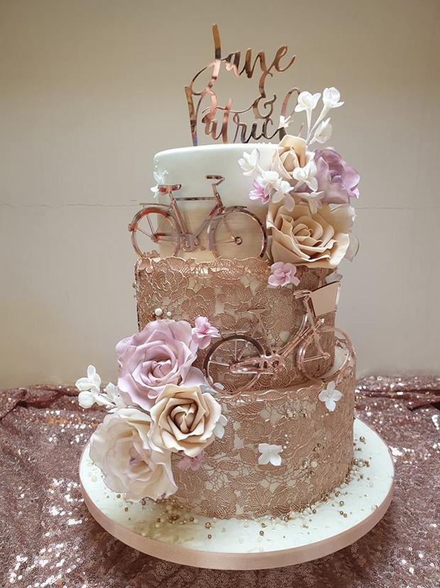 Tortas boda casamiento bicicletas