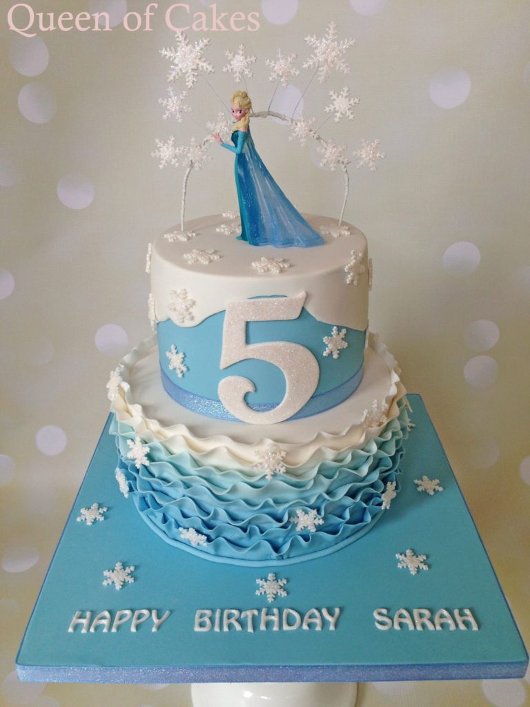 decoracion frozen2