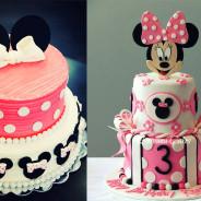 Increíbles tortas de Minnie Mouse