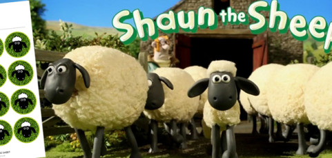 Ideas para cumpleaños Shaun the Sheep
