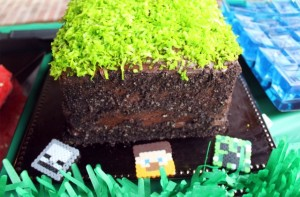 Torta fiesta Minecraft
