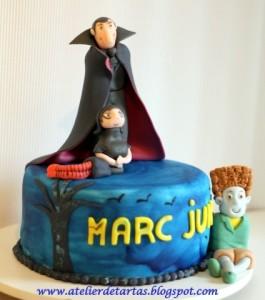 Torta drácula Transylvania