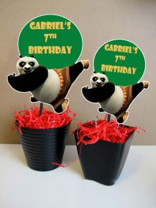 Souvenirs fiesta Kung Fu Panda