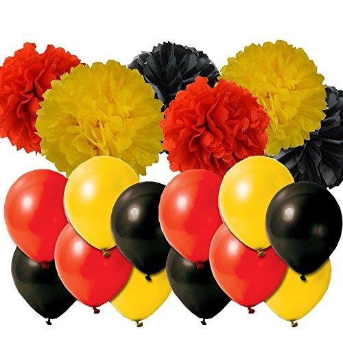 decoración o11ce cotillón globos guirnaldas